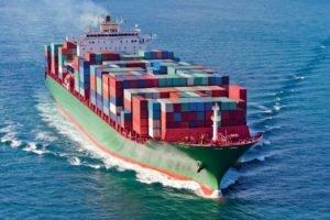 Морские контейнерные перевозки из Китая в Россию