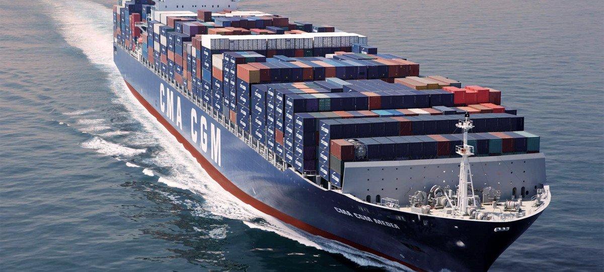 Международные морские контейнерные перевозки грузов