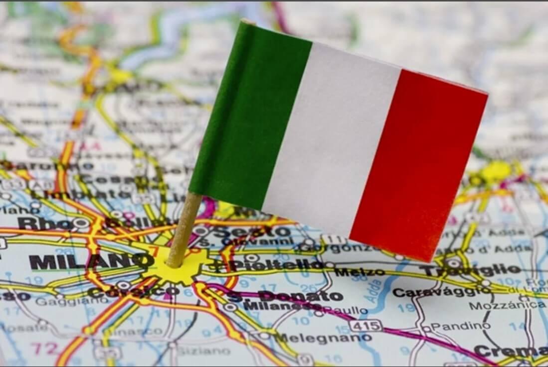 Переезд с вещами в Италию