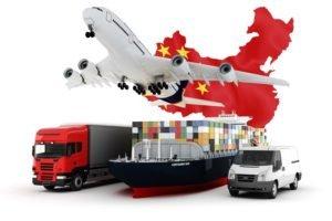 доставить груз из Китая