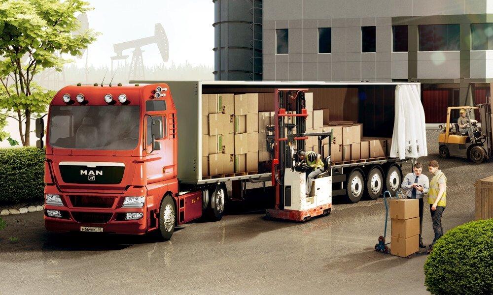 перевозка выставочного оборудования